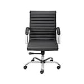 Staples Bresser Luxura Faux Leather Manager Chair,