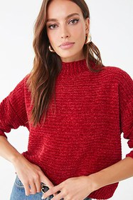 Forever21 Ribbed Chenille Sweater