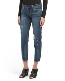 KUT FROM THE KLOTH Catherine Destructed Jeans