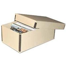 "Print File Tan 2-Piece 4x6"" Photo Storage Box"
