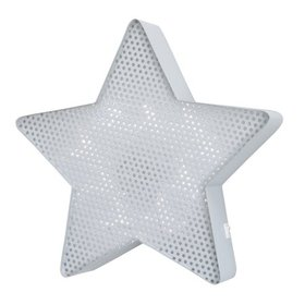 NoJo Lighted Wall Dcor Grey Star