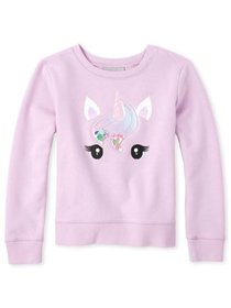 The Children's Place Girls 4-16 Shakey Unicorn Gra
