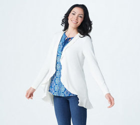 Belle by Kim Gravel Ruffle Edge Cardigan - A374480
