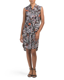JONES NEW YORK SIGNATURE Draped Waist Dress