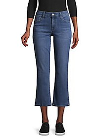 J Brand Selena Cropped Bootcut Jeans/Ascension POL