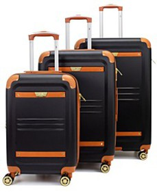 Retro 2-Pc. Hardside Spinner Luggage Set Collectio