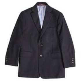 Boys Navy Textured Sport Coat (4-7)