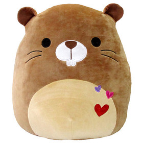 Squishmallow Brown Beaver 16 Inch