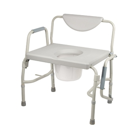 Drive Medical Bariatric Drop Arm Bedside Commode S