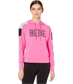Bebe Sport Color-Blocked Hoodie