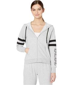 Bebe Sport Blocked Stripe Logo Jacket