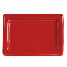 Brigitte Rectangular Platter - Red