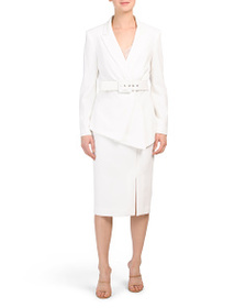 TAHARI BY ASL Belted Suit Collection