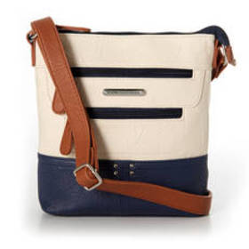 Stone Mountain Nancy Talia Tri-Tone Crossbody