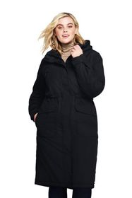 Lands End Women's Plus Size Squall Insulated Long