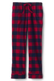 Lands End Women's Print Flannel Pajama Pants