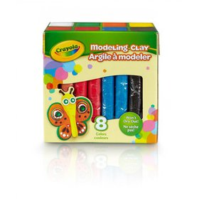 Crayola Modeling Clay, Bulk Clay, Assorted Colors,