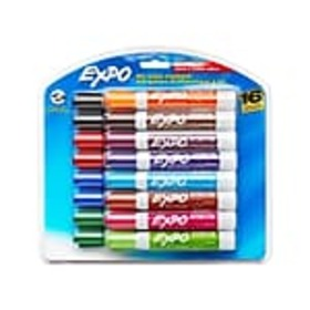 Expo® Low Odor Dry-Erase Markers, Chisel Tip, Asso