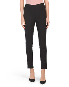 JONES NEW YORK SIGNATURE Faux Pocket Pants With Ri