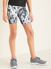 Fitted Go-Dry Cool Shorts for Girls