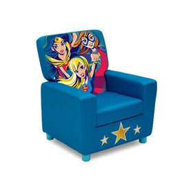 DC Super Hero Girls Youth High Back Upholstered Ch