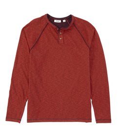 Rowm Long-Sleeve Slub Henley