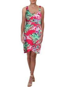 Tommy Bahama Womens Above Knee Floral Print Casual