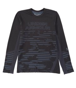 Under Armour Big Boys 8-20 Long-Sleeve Seamless Pr