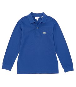 Lacoste Big Boys 8-16 Long-Sleeve Classic Polo