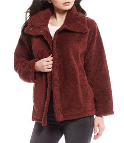Billabong Cozy Days Teddy Sherpa Jacket