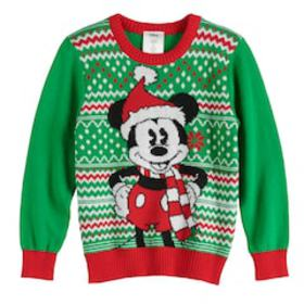 Disney's Mickey Mouse Boys 4-12 Holiday Sweater by