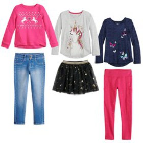 Girls 4-12 SONOMA Goods for Life™ Holiday Separate