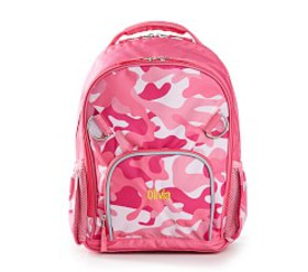 Pottery Barn Casey Pink Camo Kids' Backpack by Mar