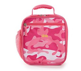 Pottery Barn Casey Pink Camo Kids' Lunch Box by Ma