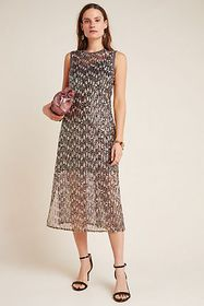 Anthropologie Corey Lynn Calter Sequined Swing Max