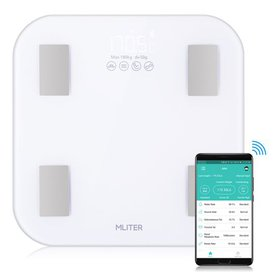 MLITER Bluetooth Body Fat Scale Easy Operation Mea