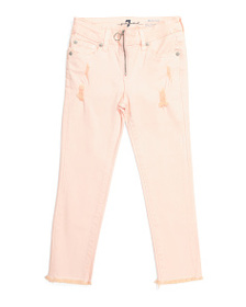 7 FOR ALL MANKIND Big Girls The Ankle Skinny Jeans