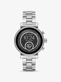 Michael Kors Sofie Heart Rate Silver-Tone Smartwat