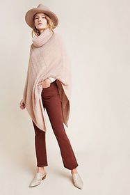 Anthropologie Lana Shimmer Poncho Sweater