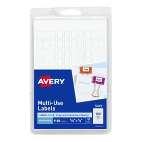 Avery Removable Labels, Removable Adhesive, Handwr