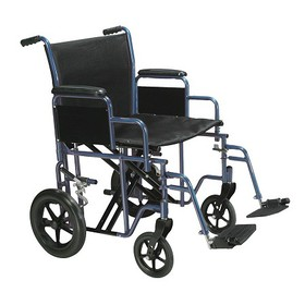 Drive Medical Bariatric Heavy Duty Transport Wheel