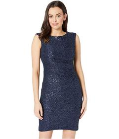 Vince Camuto Sequin Lace Cap Sleeve Bodycon Dress