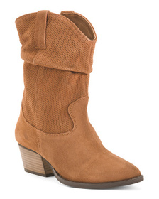 CHARLES BY CHARLES DAVID Suede Boots