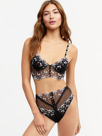 Victoria Secret Amour Long Line Bra