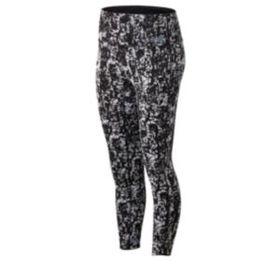 New balance Women's Q Speed Run Crew Texture Tight