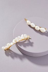 Anthropologie Amber Sceats India Pearl Hair Clip S