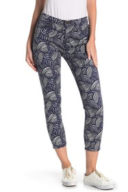 Jen7 by 7 For All Mankind Origami Printed Skinny C