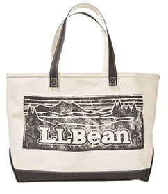 LL Bean Graphic Boat and Tote, Large