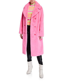 STAND Faustine Double-Breasted Coat