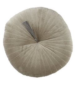 Studio D Tufted Velvet Round Pillow